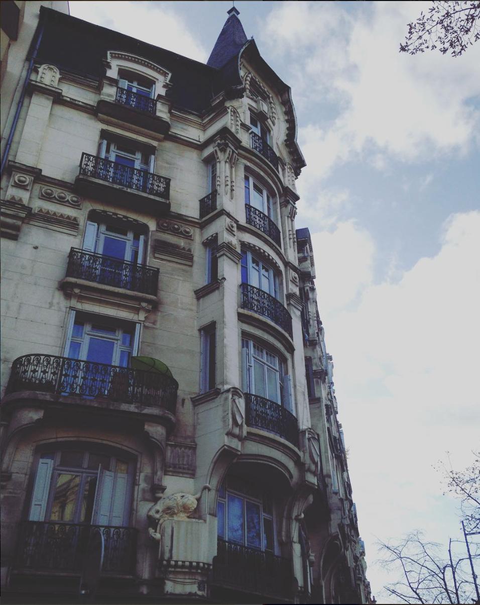 Immeuble architecture avenue de la Libération Saint-Etienne