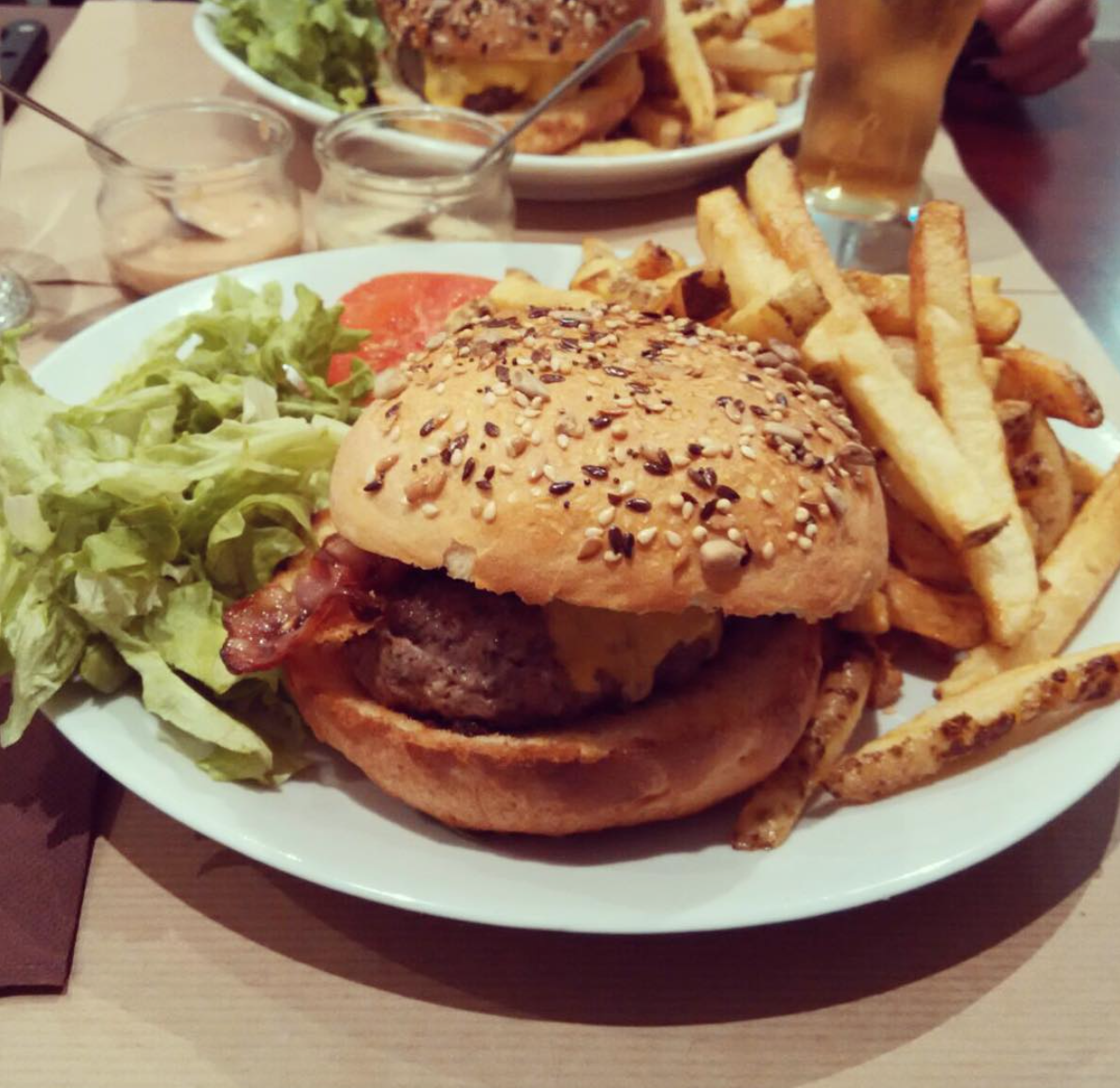 Top 5 burger district Saint Etienne