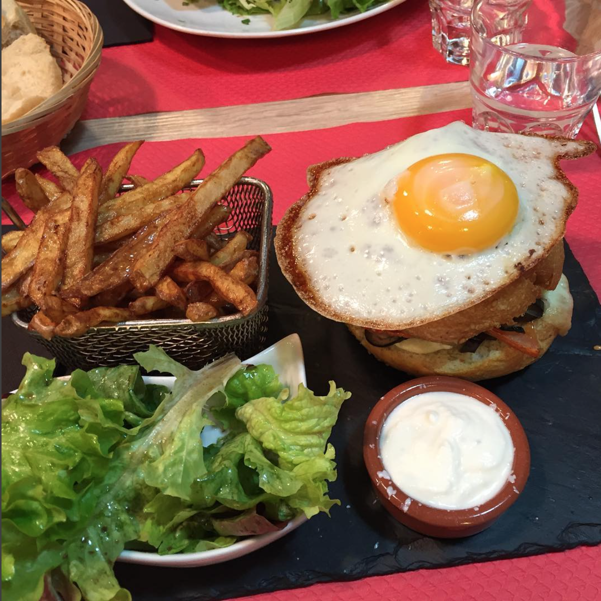 Top 5 burgers la table de 10 saint etienne