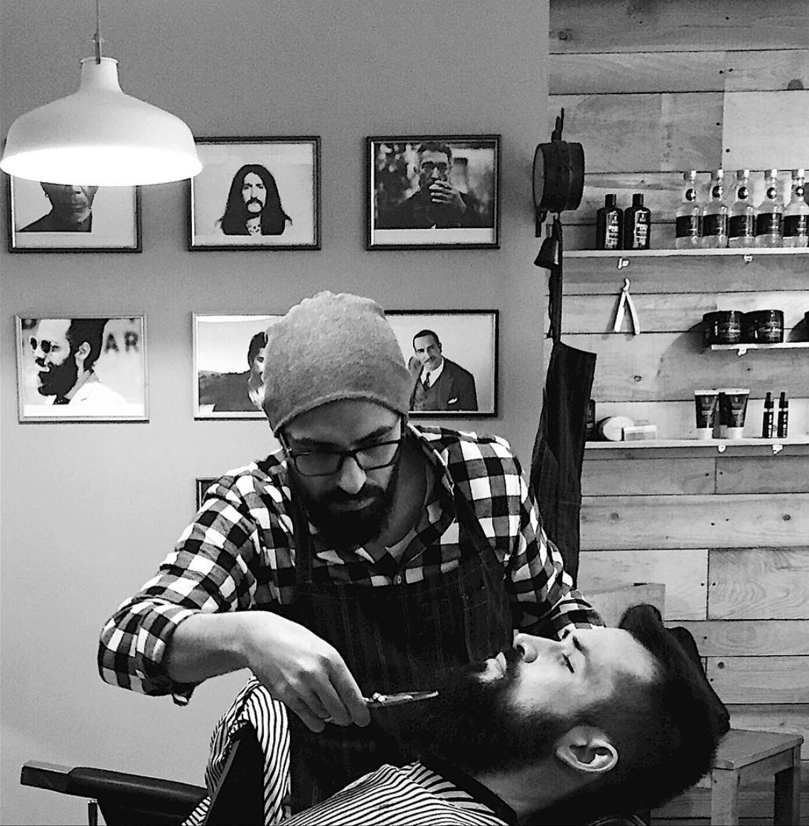 otantik barber shop saint etienne