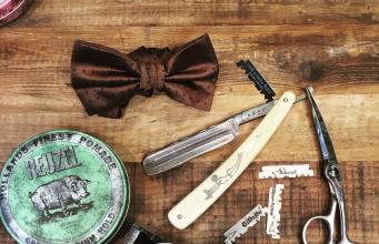 miniature barber shop arthur and john