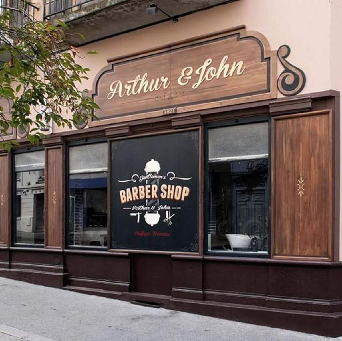 arthur & John barber shop saint-etienne