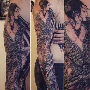 top 5 tatoueurs saint-etienne caravan tattoo gaisha