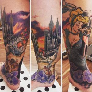 top 5 tatoueurs saint-etienne sharks tattoo disney