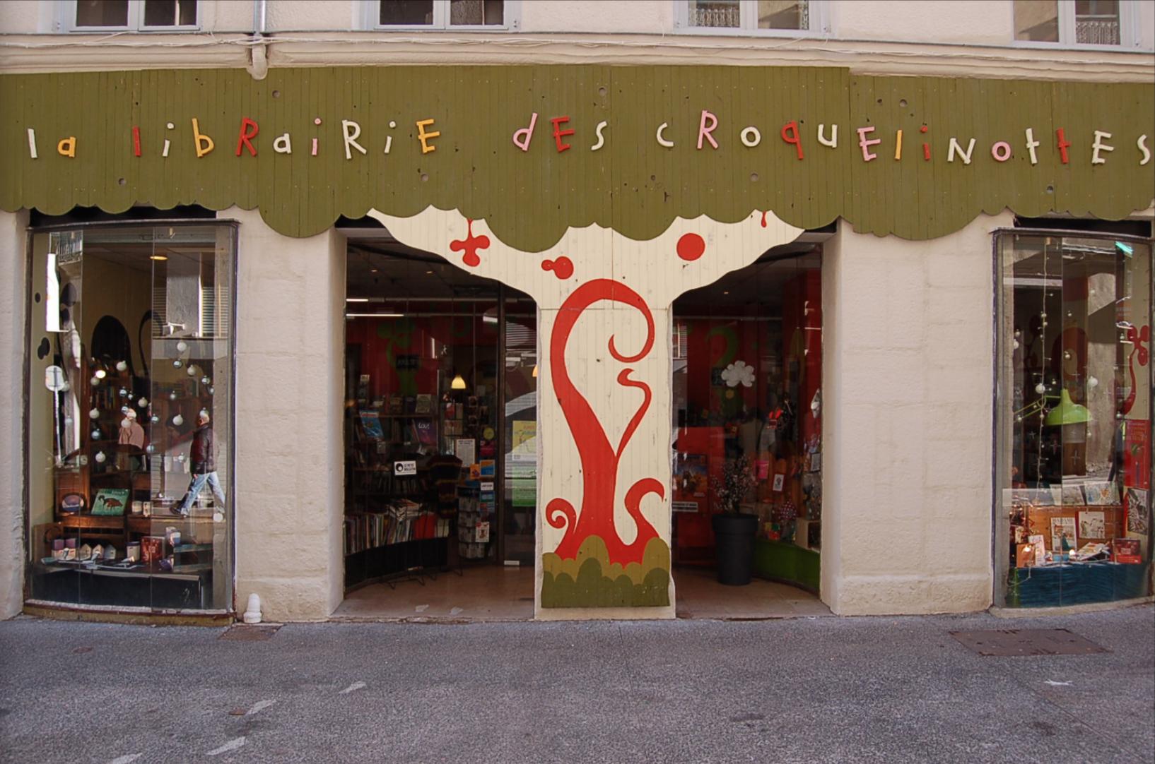 croquelinottes libraire indépendante saint-etienne