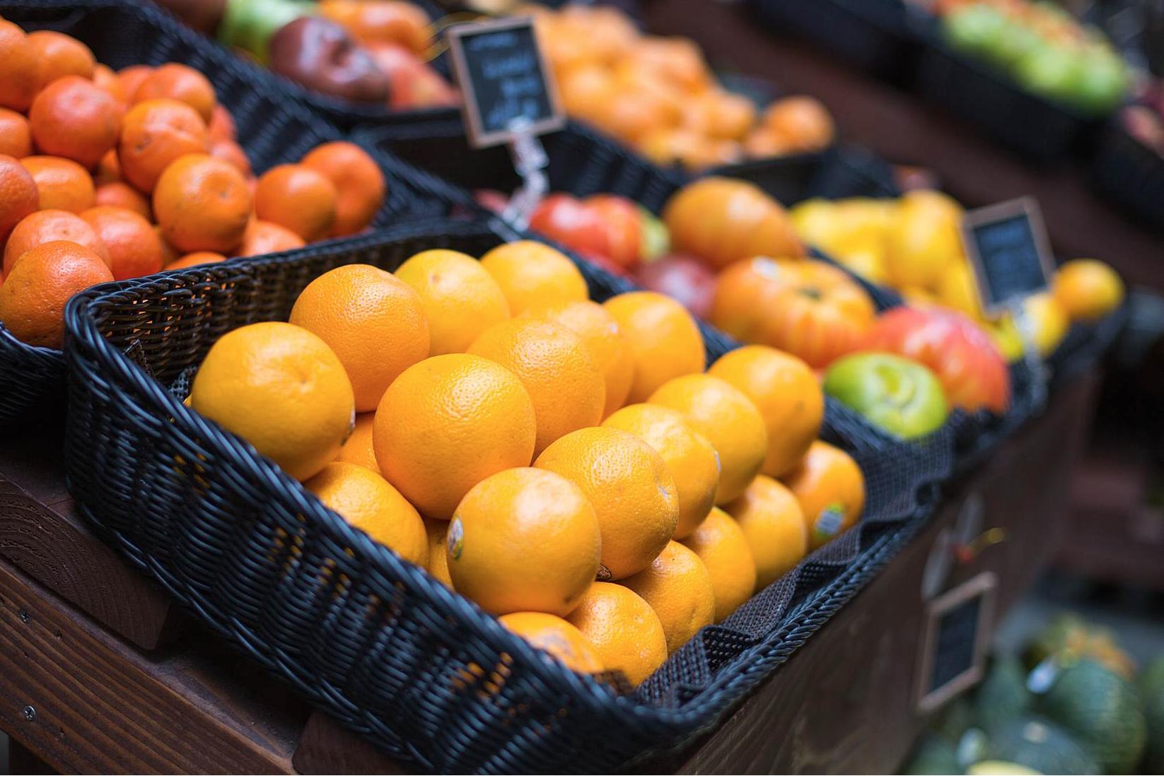 étalages légumes vrac en vert Saint-Etienne épicerie bio