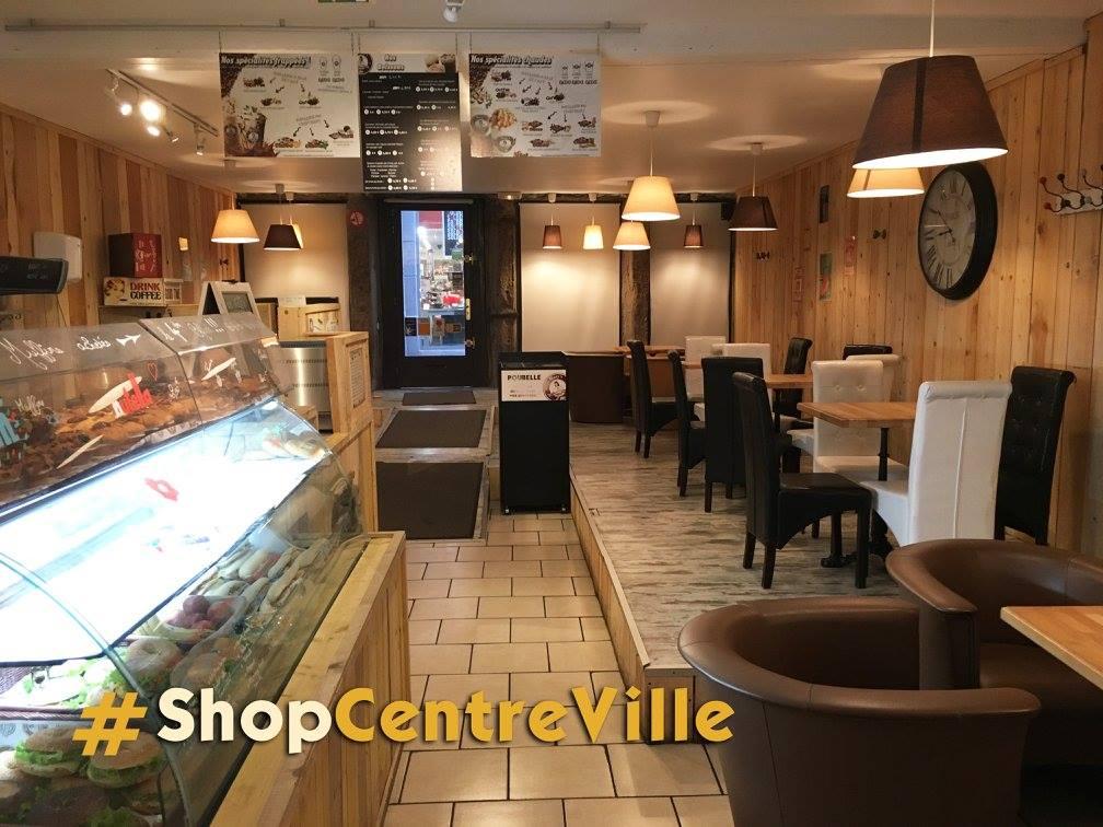 pause goûter au shop marins coffee centre ville saint-etienne