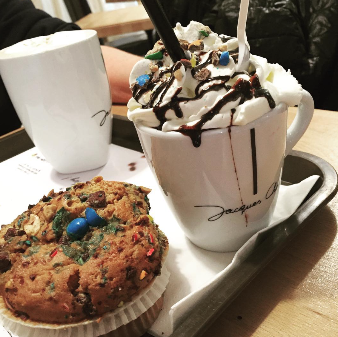pause goûter au marins coffee Fac