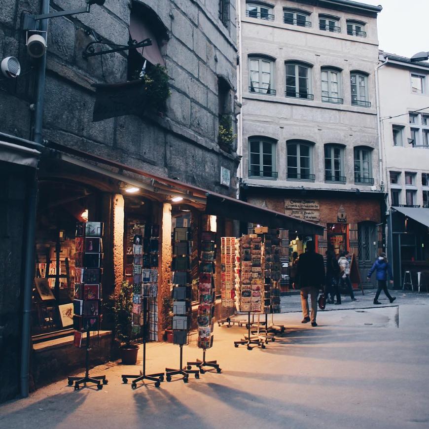 Quartier Cours Fauriel Saint-Etienne